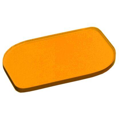 Tinted Orange Acrylic Sheet