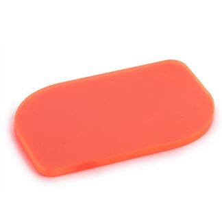 Fluorescent Orange Acrylic Sheet