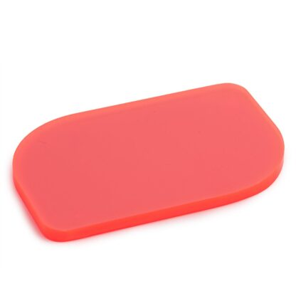 Fluorescent Red Acrylic Sheet