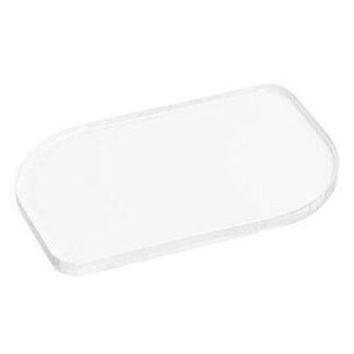 Optically Clear Solid Polycarbonate Sample