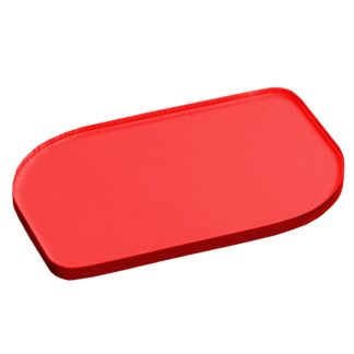 Tinted Red Acrylic Sheet Sample