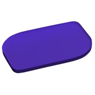 Frosted Purple Acrylic Sheet Sample