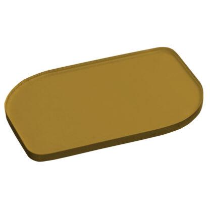 Metallic Gold Acrylic Sheet Sample