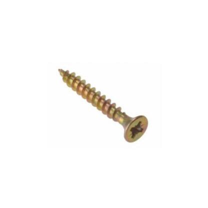 Gold screw PZ Double-countersunk multipurpose screw 4 X 25mm